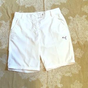 Puma golf shorts sporting attire size 4 women's